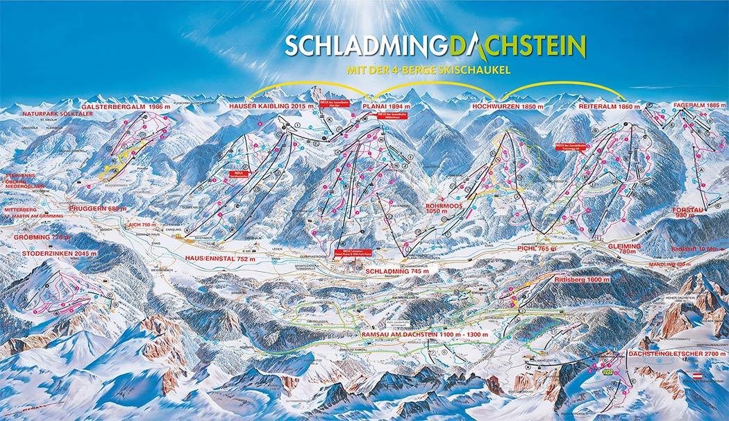 tabara ski austria planai schladming