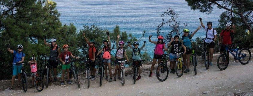 mountain bike thassos