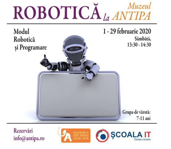 robotica muzeul antipa