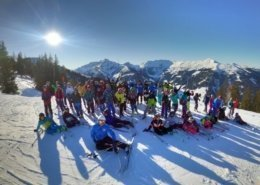 gasca de schiori la skijuwel